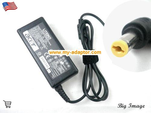 3608 Laptop AC Adapter, ACER 19V-3.42A-3608 Power Adapter, 3608 Laptop Battery Charger
