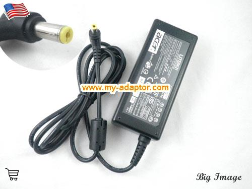 ASPIRE 2002WLMI Laptop AC Adapter, ACER 19V-3.42A-ASPIRE 2002WLMI Power Adapter, ASPIRE 2002WLMI Laptop Battery Charger