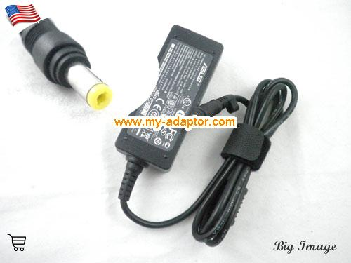 1000HE Laptop AC Adapter, ASUS 12V-3A-1000HE Power Adapter, 1000HE Laptop Battery Charger