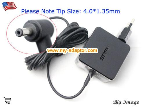 S220 Laptop AC Adapter, ASUS 19V-1.75A-S220 Power Adapter, S220 Laptop Battery Charger