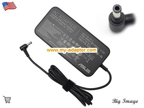 N550 Laptop AC Adapter, ASUS 19V-6.32A-N550 Power Adapter, N550 Laptop Battery Charger