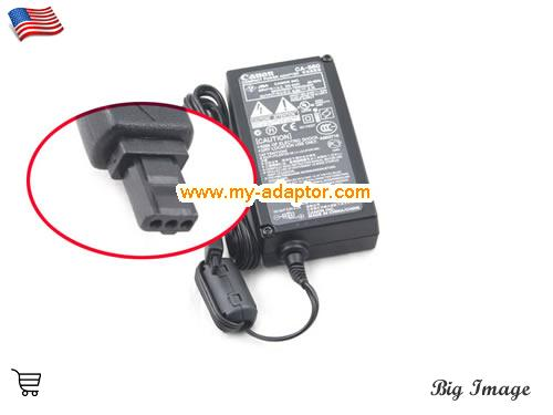DM-FV10 Laptop AC Adapter, CANON 9.5V-2.7A-DM-FV10 Power Adapter, DM-FV10 Laptop Battery Charger