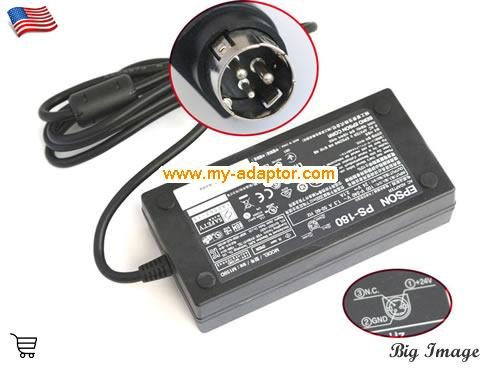BS-210K Laptop AC Adapter, ESPON 24V-2.1A-BS-210K Power Adapter, BS-210K Laptop Battery Charger