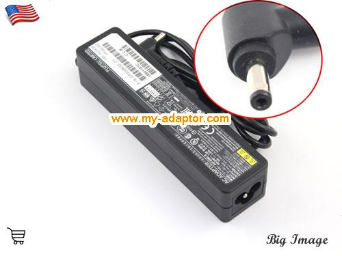 LIFEBOOK Q704 Laptop AC Adapter, Fujitsu 19V-3.42A-LIFEBOOK Q704 Power Adapter, LIFEBOOK Q704 Laptop Battery Charger