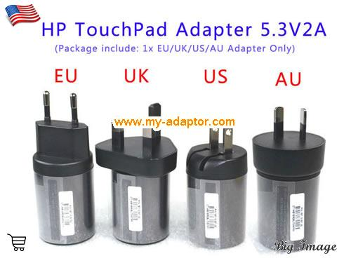 9.7INCH 32GB TOUCHPAD Laptop AC Adapter, HP 5.3V-2A-9.7INCH 32GB TOUCHPAD Power Adapter, 9.7INCH 32GB TOUCHPAD Laptop Battery Charger