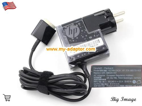 ELITEPAD 1000 BNBPC Laptop AC Adapter, HP 9V-1.1A-ELITEPAD 1000 BNBPC Power Adapter, ELITEPAD 1000 BNBPC Laptop Battery Charger