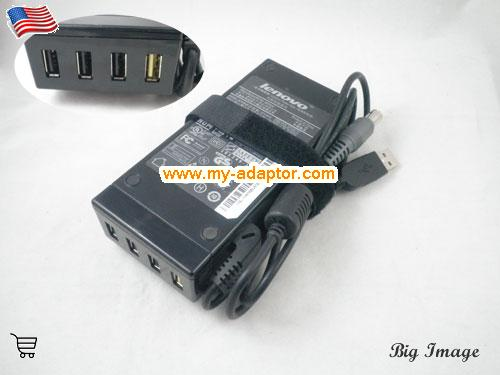 40Y7669 Laptop AC Adapter, 20V 3.25A 40Y7669 Power Adapter, 40Y7669 Laptop Battery Charger