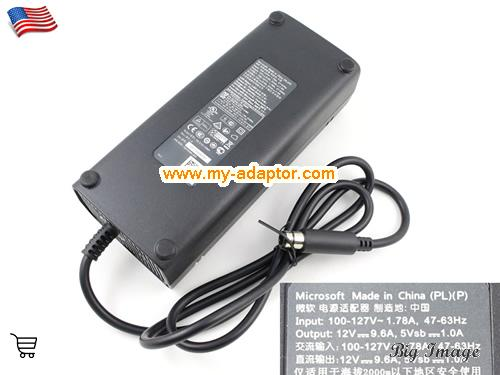 XBOX 360 E GAME CONSOLE Laptop AC Adapter, MICROSOFT 12V-9.6A-XBOX 360 E GAME CONSOLE Power Adapter, XBOX 360 E GAME CONSOLE Laptop Battery Charger