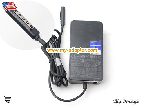 SURFACE PRO2 Laptop AC Adapter, Microsoft 12V-3.6A-SURFACE PRO2 Power Adapter, SURFACE PRO2 Laptop Battery Charger