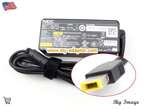 PC-HZ650BAS Laptop AC Adapter, NEC 20V-2.25A-PC-HZ650BAS Power Adapter, PC-HZ650BAS Laptop Battery Charger