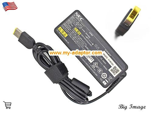 PC-HZ750AAB Laptop AC Adapter, NEC 20V-3.25A-PC-HZ750AAB Power Adapter, PC-HZ750AAB Laptop Battery Charger