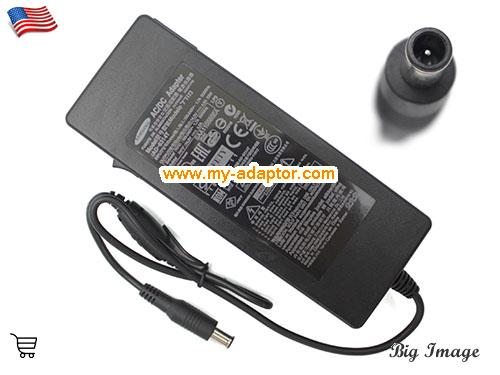 TS190W Laptop AC Adapter, SAMSUNG 14V-4.5A-TS190W Power Adapter, TS190W Laptop Battery Charger