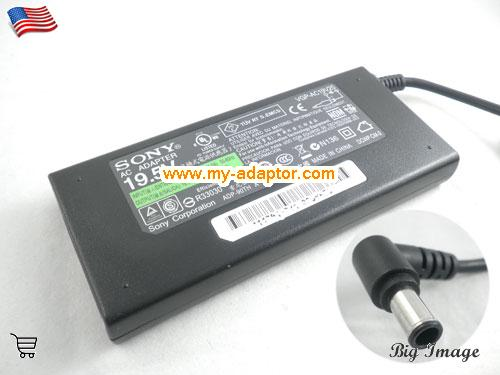 VAIO VGN-FS742W Laptop AC Adapter, SONY 19.5V-4.7A-VAIO VGN-FS742W Power Adapter, VAIO VGN-FS742W Laptop Battery Charger