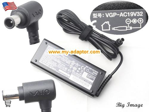 VGN-SZ75B/B Laptop AC Adapter, SONY 19.5V-4.7A-VGN-SZ75B/B Power Adapter, VGN-SZ75B/B Laptop Battery Charger