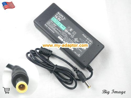 PCG-GR114SK Laptop AC Adapter, SONY 19.5V-5.13A-PCG-GR114SK Power Adapter, PCG-GR114SK Laptop Battery Charger