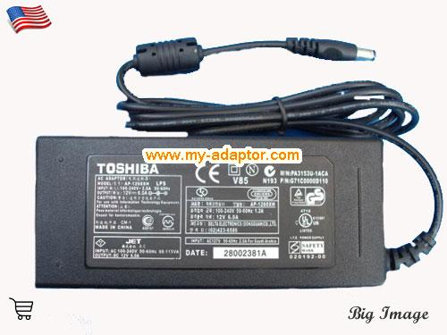 TAA-Y55 MONITOR Laptop AC Adapter, TOSHIBA 12V-6A-TAA-Y55 MONITOR Power Adapter, TAA-Y55 MONITOR Laptop Battery Charger