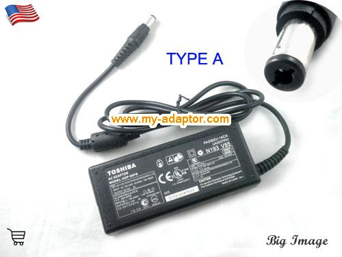 SATELLITE 2590CDS Laptop AC Adapter, TOSHIBA 15V-3A-SATELLITE 2590CDS Power Adapter, SATELLITE 2590CDS Laptop Battery Charger
