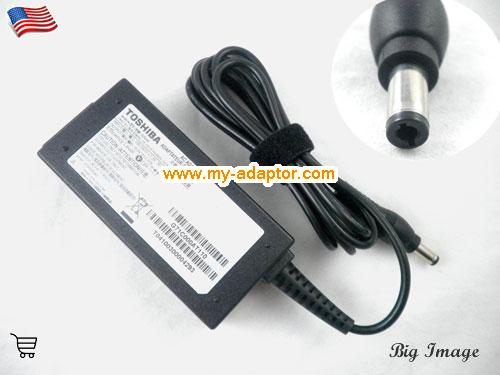 SATELLITE T235D Laptop AC Adapter, TOSHIBA 19V-2.37A-SATELLITE T235D Power Adapter, SATELLITE T235D Laptop Battery Charger