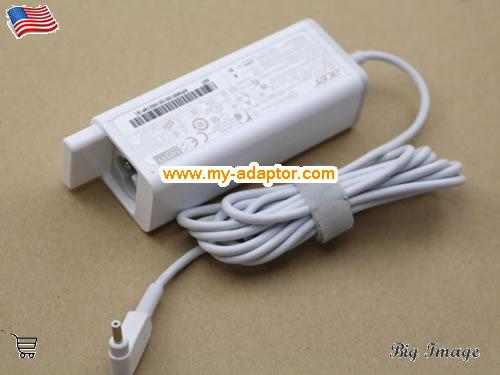 image 1 for  ACER USA Genuine N13-045N2A AC Adapter For Acer TMP236-M-547R TMP236 ADP-45ZD B PA-1450-26 19V 2.37A AC Adapter For Acer Aspire V3 V3-331 V3-371 Series Laptop Laptop AC Adapter Power Adapter Laptop Battery Charger ACER19V2.37A45W-3.0x1.0mm-W-New