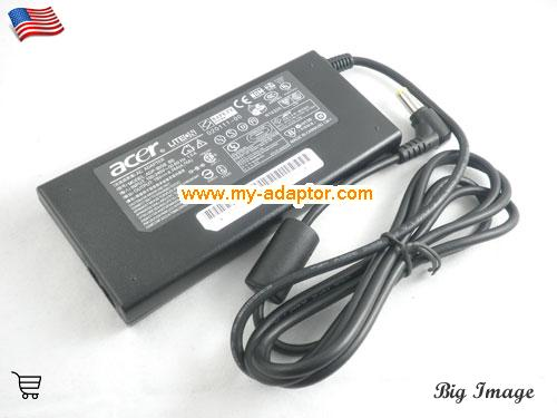 image 1 for  ACER USA Genuine PA-1700-03 ADP-90SB BB A10-090P3A Charger Adapter For ACER Aspire 3020 Aspire 5600 Aspire 6930G 5650 Laptop AC Adapter Power Adapter Laptop Battery Charger ACER19V4.74A90W-5.5x2.5mm-Slim