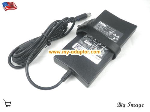 image 2 for  DELL USA Genuine DELL DA90PE-100 LA90PE1-01 WK890 ADP-90VH B Slim AC Adapter 19.5V 4.62A For DELL INSPIRON D620 D630 1520 LATITUDE D830 E6500 LATITUDE D400 Laptop AC Adapter Power Adapter Laptop Battery Charger DELL19.5V4.62A90W-7.4x5.0mm-Slim