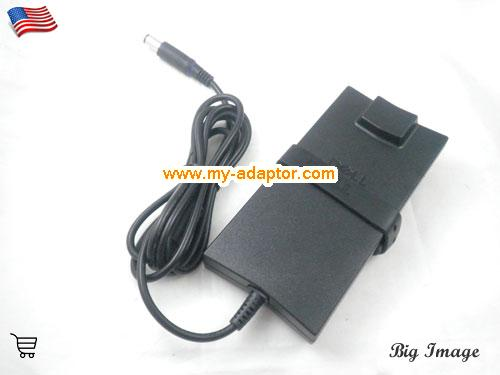 image 4 for  DELL USA Genuine DELL DA90PE-100 LA90PE1-01 WK890 ADP-90VH B Slim AC Adapter 19.5V 4.62A For DELL INSPIRON D620 D630 1520 LATITUDE D830 E6500 LATITUDE D400 Laptop AC Adapter Power Adapter Laptop Battery Charger DELL19.5V4.62A90W-7.4x5.0mm-Slim