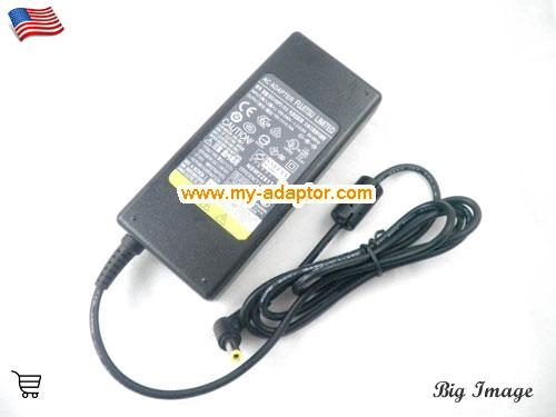 image 1 for  FUJITSU USA Genuine Adapter Charger For Fujitsu LIFEBOOK A6210 A6220 A6230 AH530 A N E Series Laptop AC Adapter Power Adapter Laptop Battery Charger FUJITSU19V4.74A90W-5.5x2.5mm