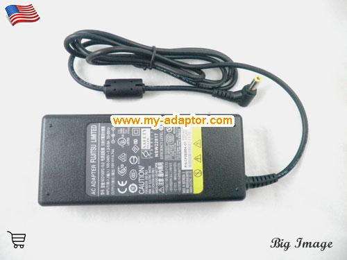 image 3 for  FUJITSU USA Genuine Adapter Charger For Fujitsu LIFEBOOK A6210 A6220 A6230 AH530 A N E Series Laptop AC Adapter Power Adapter Laptop Battery Charger FUJITSU19V4.74A90W-5.5x2.5mm