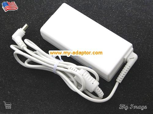 image 4 for  LG USA LG R400 R410 LCD Monitor Adapter 19V 3.42A PA-1650-43 ADP-1650-68 65W With White Power Cord Laptop AC Adapter Power Adapter Laptop Battery Charger LG19V3.42A65W-6.5x4.0mm-W