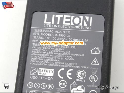 image 2 for  LITEON USA New Genuine Liteon 19V 4.74A PA-1900-05 Adapter For AcBel AD7044 AP13D05 API1AD43 API2AD62 API3AD05 API3AD05 Power Supply Charger 4pin Laptop AC Adapter Power Adapter Laptop Battery Charger LITEON19V4.74A90W-4PIN