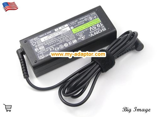image 1 for  SONY USA  Genuine Genuine SONY 19.5V 4.7A Laptop Charger VGP-AC19V23 VGP-AC19V26 VGP-AC19V24 Laptop AC Adapter Power Adapter Laptop Battery Charger SONY19.5V4.7A92W-6.5x4.4mm