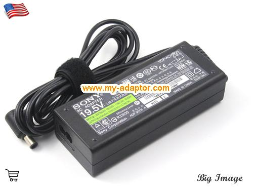 image 2 for  SONY USA  Genuine Genuine SONY 19.5V 4.7A Laptop Charger VGP-AC19V23 VGP-AC19V26 VGP-AC19V24 Laptop AC Adapter Power Adapter Laptop Battery Charger SONY19.5V4.7A92W-6.5x4.4mm