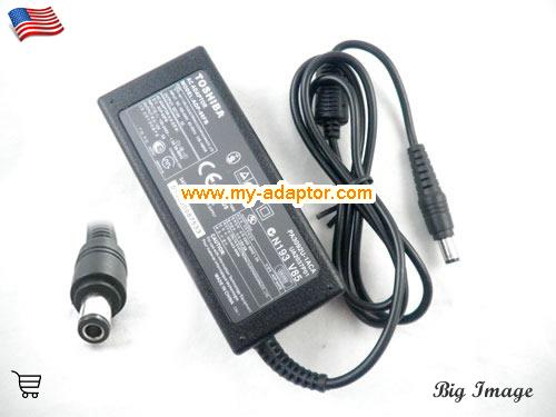 image 1 for  TOSHIBA USA TOSHIBA Equium A100 Adapter A100-147 Equium M50 Portege S100 SATELLITE A100 M100 Tecra M3 9000 Charger Laptop AC Adapter Power Adapter Laptop Battery Charger TOSHIBA15V5A75W-6.0x3.0mm