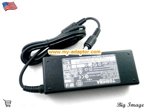 image 3 for  TOSHIBA USA Genuine ADP-60FB Charger Power For Toshiba Equium A100-338 PA2521E-2AC3 5474 Laptop AC Adapter Power Adapter Laptop Battery Charger TOSHIBA15V5A75W-6.0x3.0mm-TYPE-B
