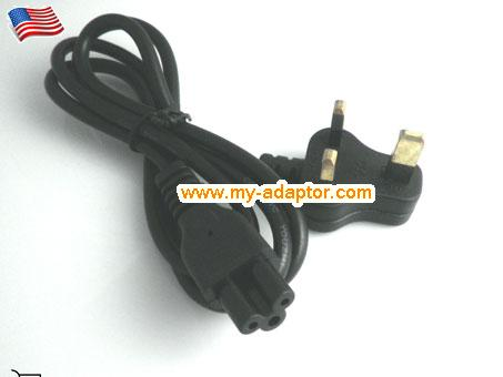 UK C5 AC power cord, 1.2m